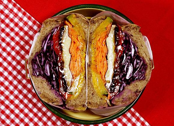 Mori-mori Vegetable Sandwich