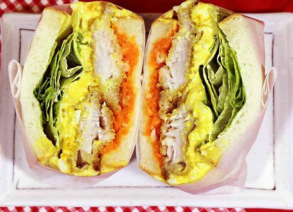 Yamitsuki Fish & Egg Tartare Sandwich