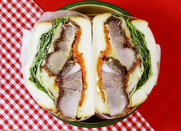 Zaku-zaku Crispy Pork Sandwich