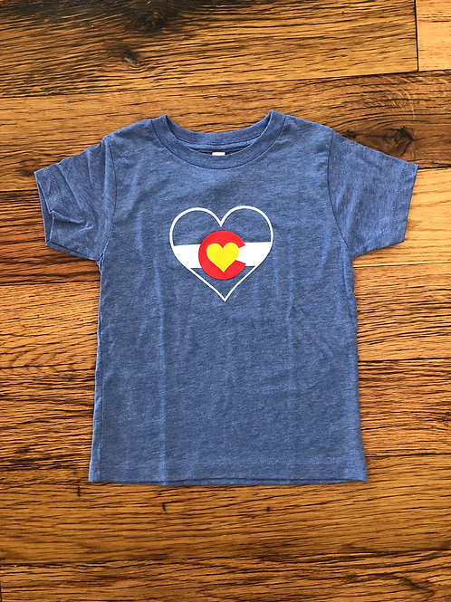 Colorado Mountain Love Toddler shirt