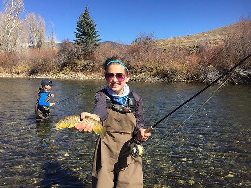2 Anglers Full Day Wade Fishing Trip $450
