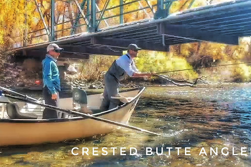 1 or 2 Anglers Half Day Gunnison River Float Fishing Trip $495
