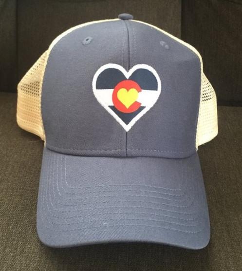 50e06f1eefbc8 Colorado Mountain Love Soft Mesh Trucker Hat
