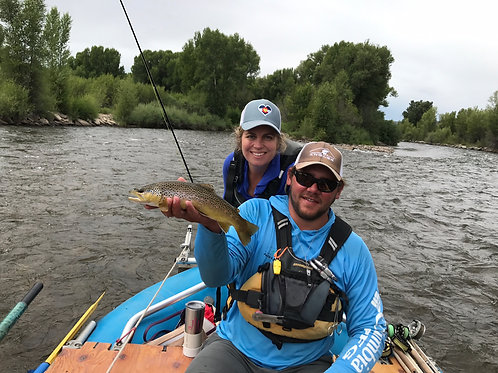 1 or 2 Anglers Full Day Gunnison River Float Fishing Trip $595
