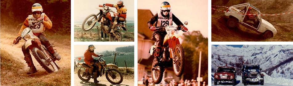Francois Deroeux pro moto curso