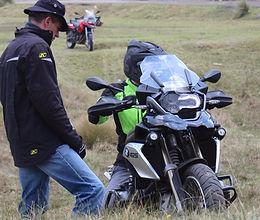 curso moto off road bmw