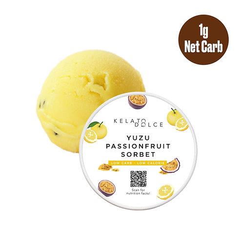 *Keto-friendly* Yuzu Passionfruit Sorbet(16oz)