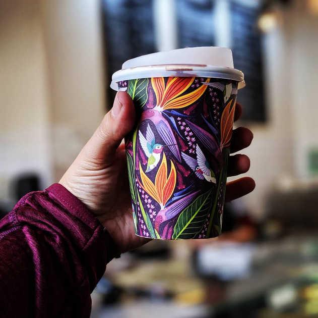 BIOPAK BIODEGRADABLE COFFEE CUPS