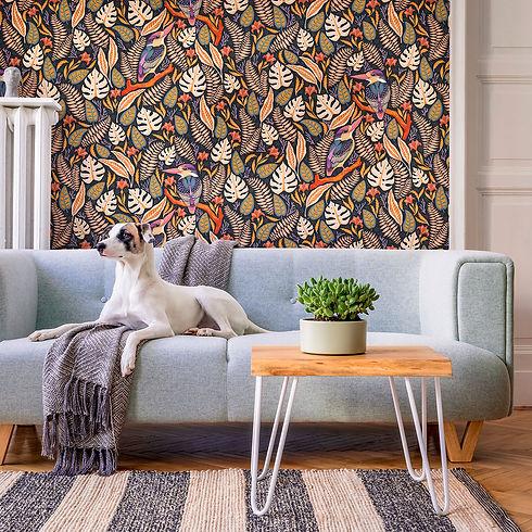 Catherine Marion Kingfisher Wallpaper