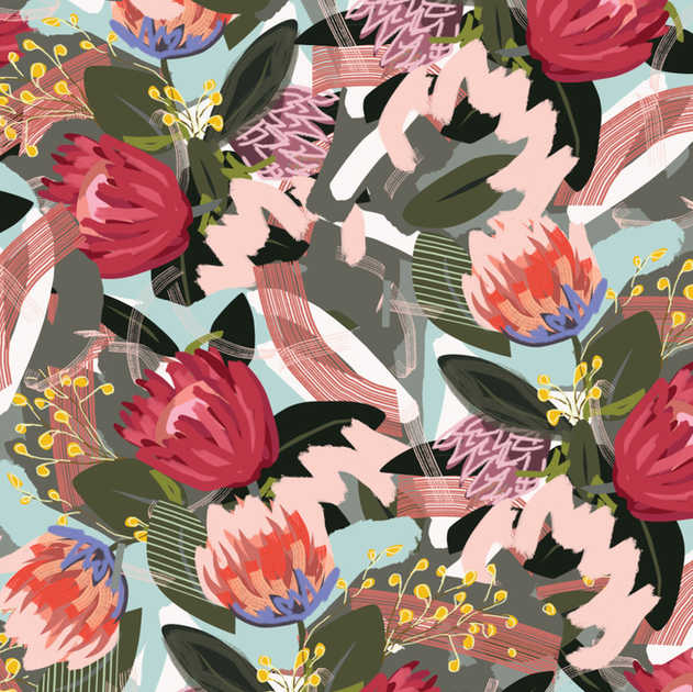 BUNCH OF FLOWERS PATTERN
