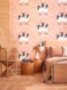 Catherine Marion Japanese Cranes Wallpaper