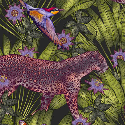 DEEP INTO THE JUNGLE PATTERN