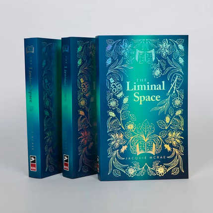 THE LIMINAL SPACE BOOK COVER DESIGN