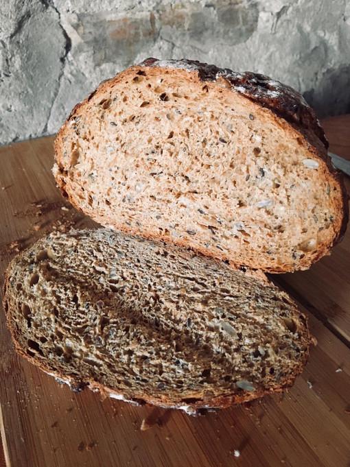 Ancient Grain Cob Sliced