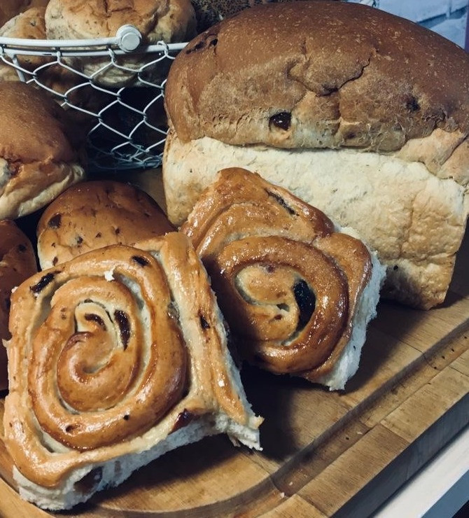 Chelsea Buns & Bun Loaf