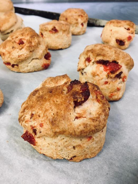 Cherry & Almond Scones