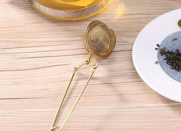 Gold Mesh Ball Infuser