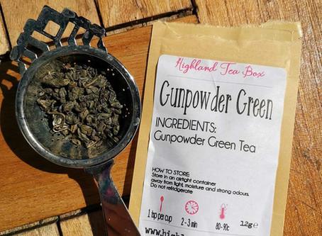 Gunpowder Green in the pot