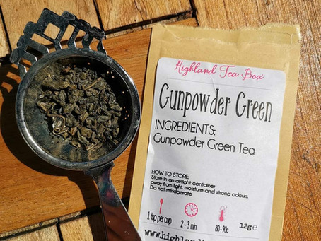 Gunpowder Green in the pot