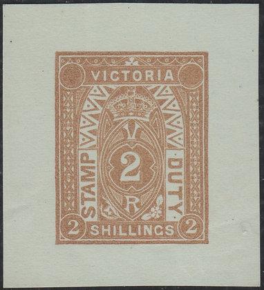 VICTORIA SG 258 DIE PROOF