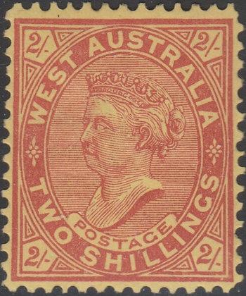 WESTERN AUSTRALIA SG 124b