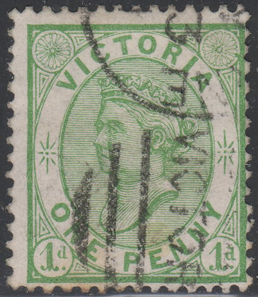 VICTORIA SG 188 1d Yellow-Green