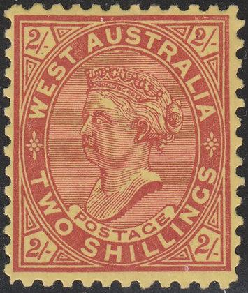 WESTERN AUSTRALIA SG 134 PERF 11