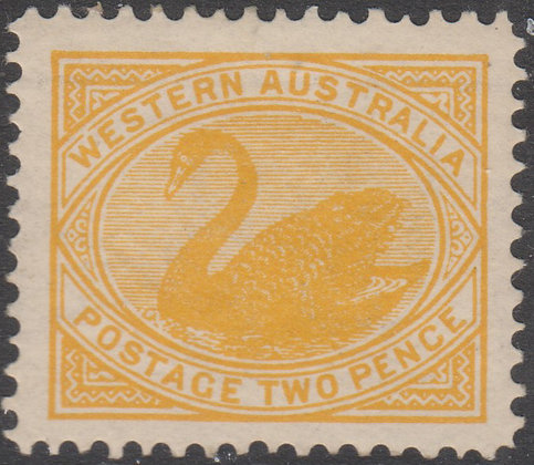 WESTERN AUSTRALIA SG 118 Single Lined Perf 12.4