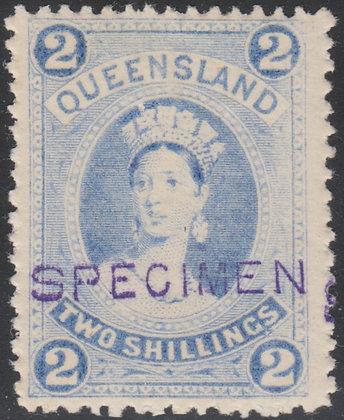 QUEENSLAND SG 157 SPECIMEN