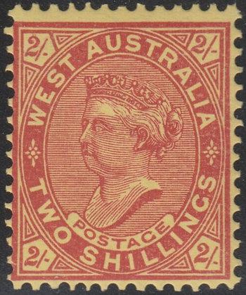 WESTERN AUSTRALIA SG 124a