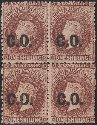 SOUTH AUSTRALIA SG 83 C.O. DEPARTMENTAL BLOCK OF 4