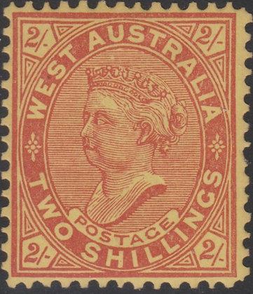 WESTERN AUSTRALIA SG 124b Single Line Perf 12½