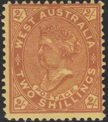 WESTERN AUSTRALIA SG 124c