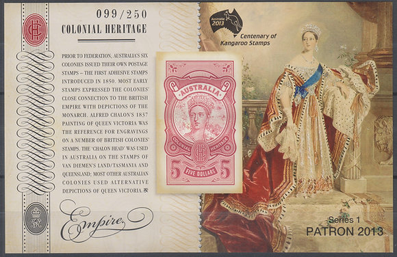 Australia 2013 World Stamp Exhibition, Patron's Pack, 099/250