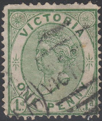 VICTORIA SG 177a 1d Green