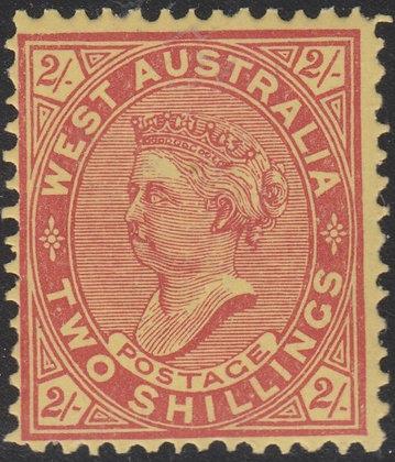 WESTERN AUSTRALIA SG 124 Single Line Perf 12½