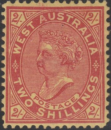 WESTERN AUSTRALIA SG 124Single Line Perf 12½
