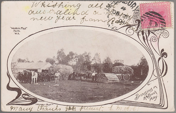 WESTERN AUSTRALIA 1904 ( DE 23 ) Picture Post Card