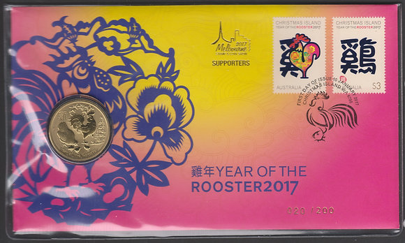 Melbourne 2017 Stamp and Coin Show Supporters Pack 020/200