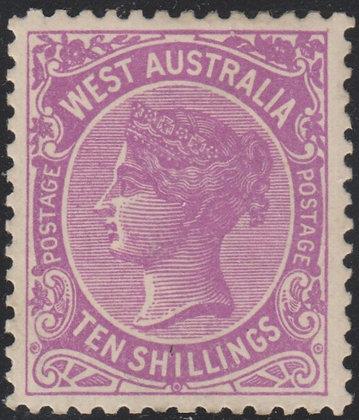 WESTERN AUSTRALIA SG 127a