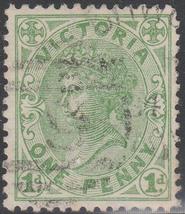 VICTORIA SG 209a 1d Green
