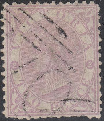 VICTORIA SG 169a 2d Dull Lilac-mauve