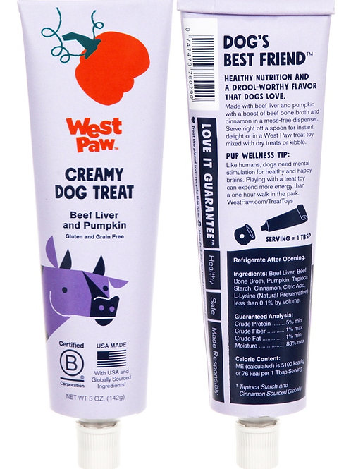 Creamy Dog Treats, 5oz tubes - WestPaw