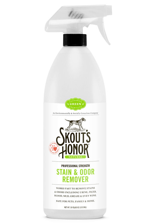 Skout's Honor Professional Strength Stain & Odor Remover (35oz trigger)