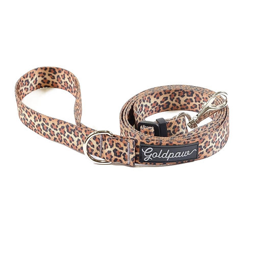 Adjustable Length Leash - Leopard