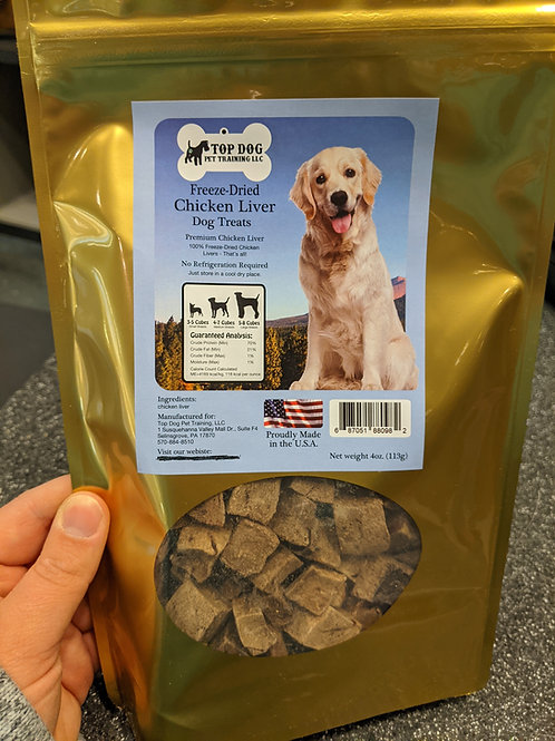 Freeze Dried Chicken Treats