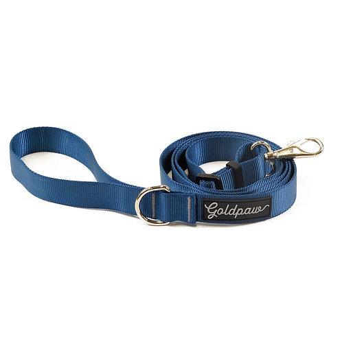 Adjustable Length Leash - Marine Blue