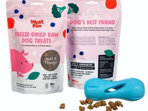 Freeze-Dried Raw Dog Treats - 2.5 oz bags - West Paw