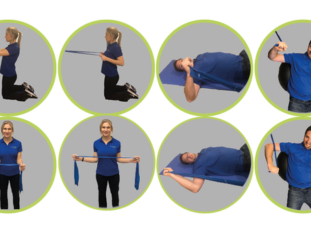 Strengthening shoulder exercises for swimmers