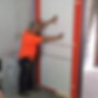 Video Installation of Italian modern doors.